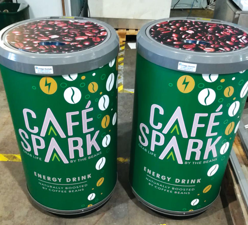 Cafe Spark Displays