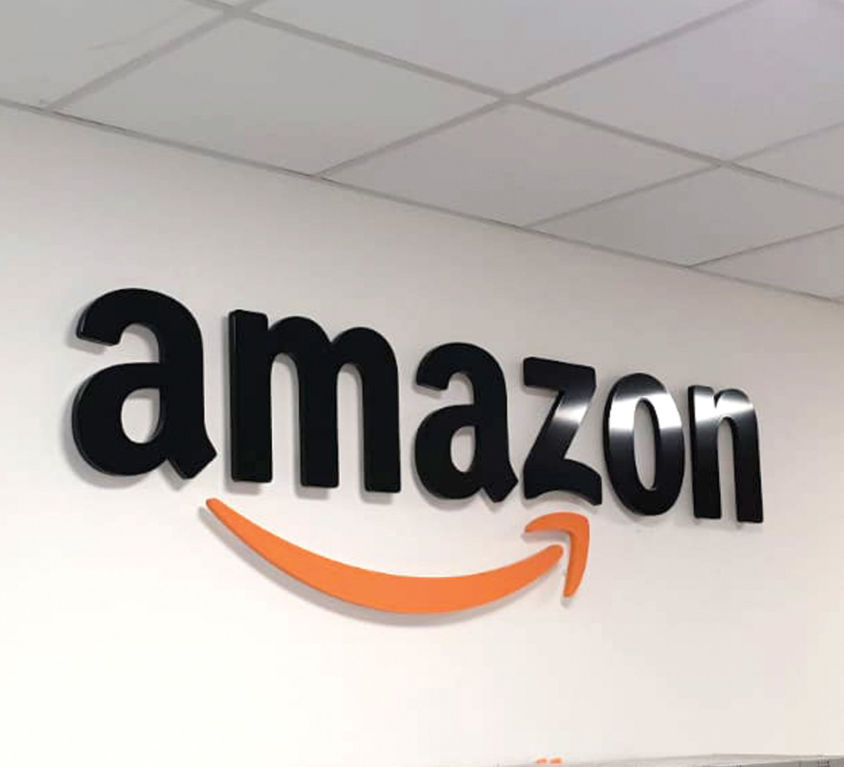 Amazon Cut Out SIgnage