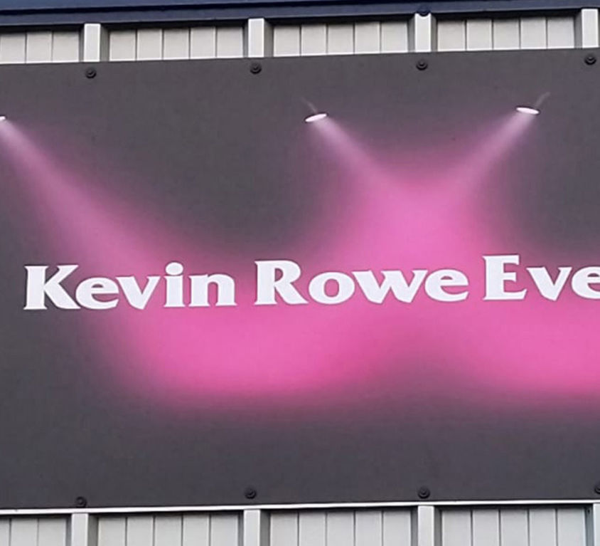 Kevin Rowe Cut Out Signage